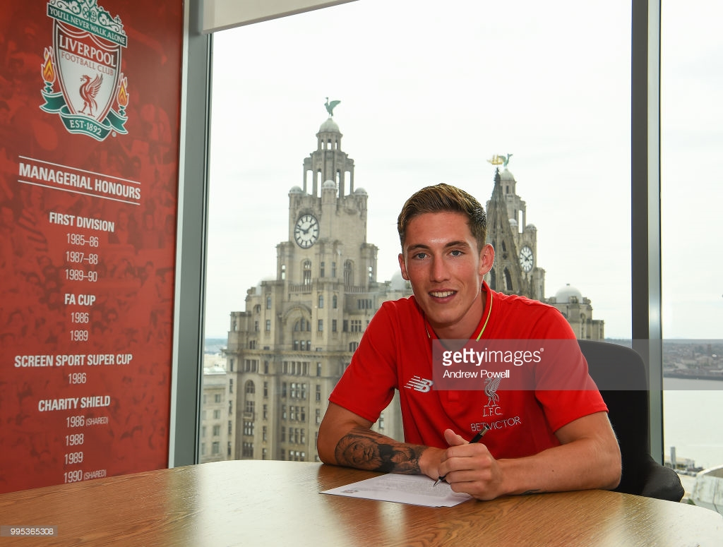 Harry Wilson signs a new long-term contract with Liverpool