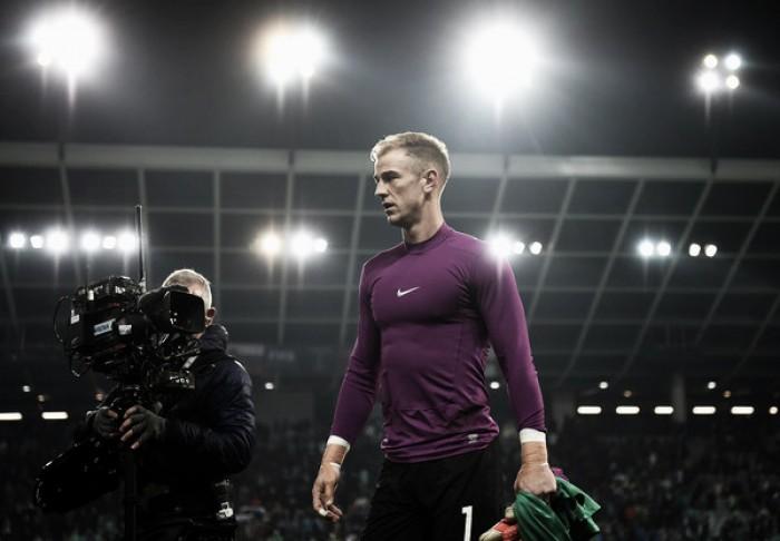 """Hart aprova sua atuação em empate da Inglaterra: """"Meu melhor jogo em muito tempo"""""""