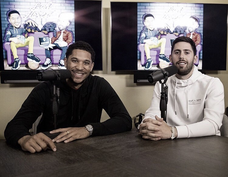 The lighthearted way of doing a podcast with Josh Hart