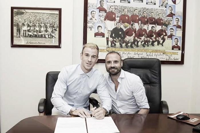 """Hart é confirmado no Torino e comemora: """"A oferta veio no momento certo"""""""