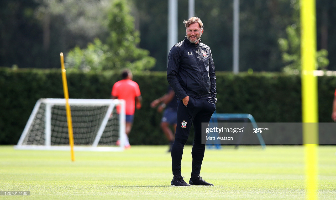 "Ralph Hasenhüttl on Brentford cup tie: ""This chance we will take."""