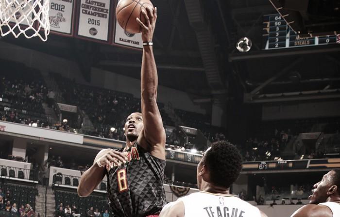 Los Hawks atienden a domicilio a Pacers