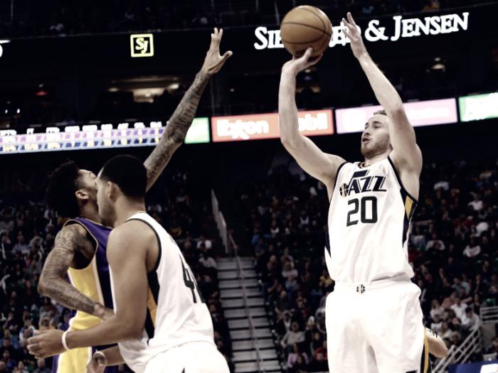 NBA - Utah di misura, ma senza patemi, sui Los Angeles Lakers
