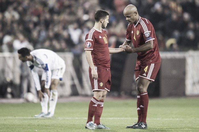 Hazard replaces Kompany as Belgium captain for Euro 2016 as Red Devils announce official squad