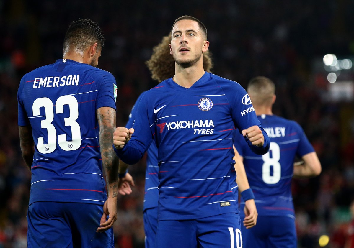 Liverpool 1-2 Chelsea analysis: Match of mistakes is won by Hazard's moment of quality