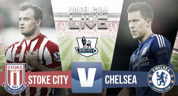Result Stoke City 1-0 Chelsea in Premier League 2015