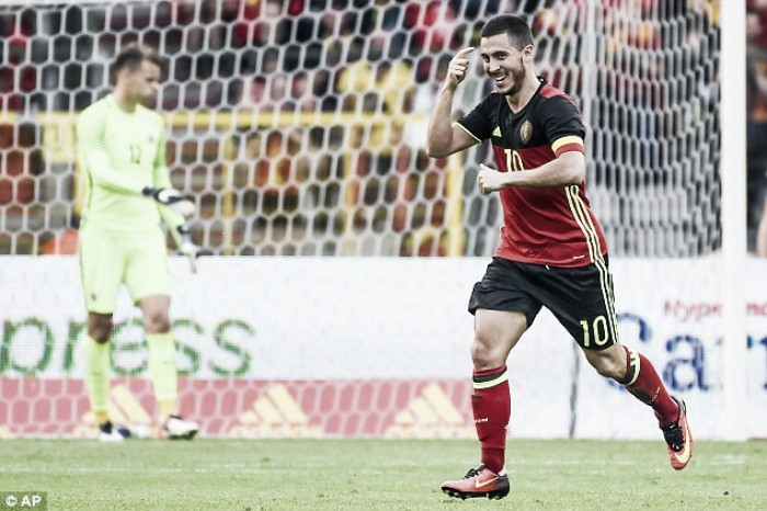 Opinion: Eden Hazard's form key for Belgium this summer