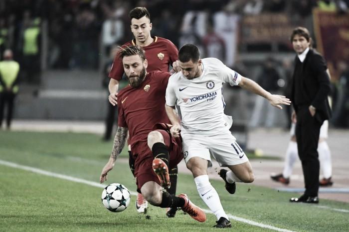 La Roma se aprovecha de un Chelsea desconocido