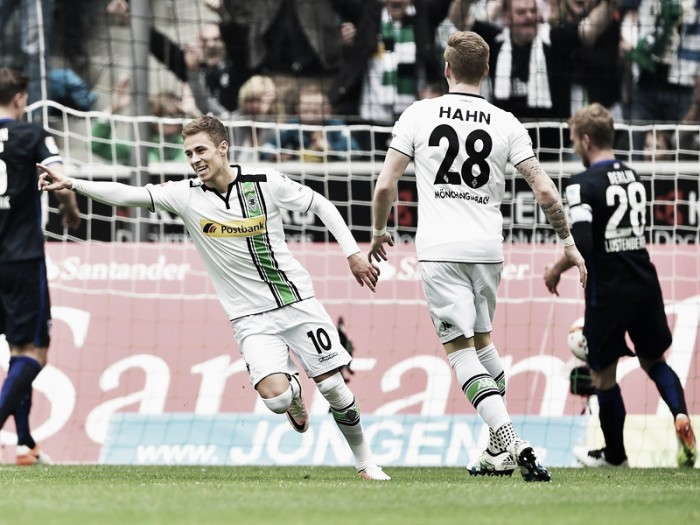 Borussia Mönchengladbach 5-0 Hertha BSC: Gladbach hit top four rivals for five