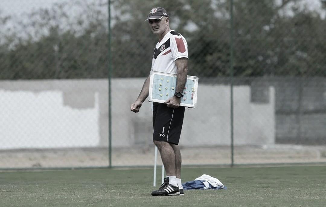 """Após triunfo diante do Petrolina, Itamar Schulle diz: """"Saio satisfeito com a vitória e com a estreia"""""""