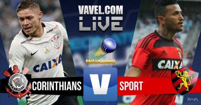Resultado Corinthians x Sport pelo Campeonato Brasileiro 2016 (3-0)