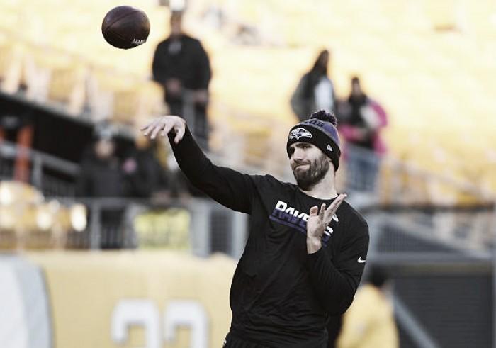 Joe Flacco sofre lesão e poderá desfalcar os Ravens no início da temporada