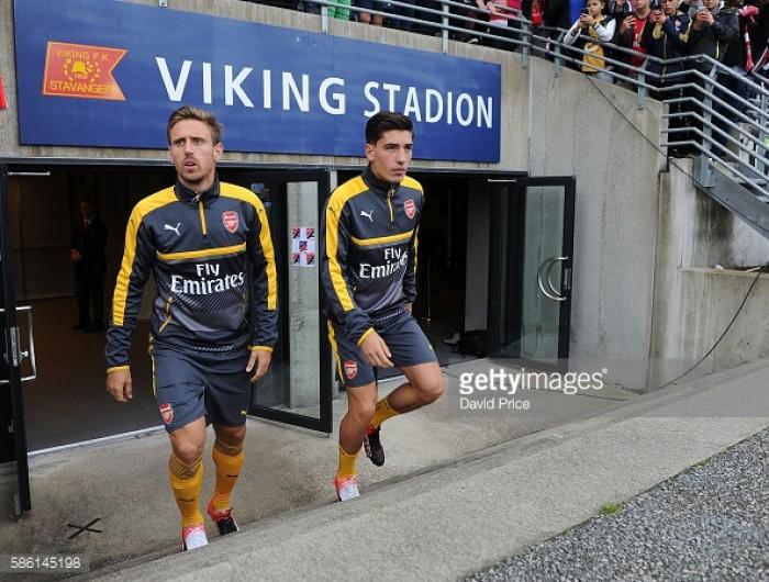 Contrasting emotions for Arsenal's full-backs on international duty