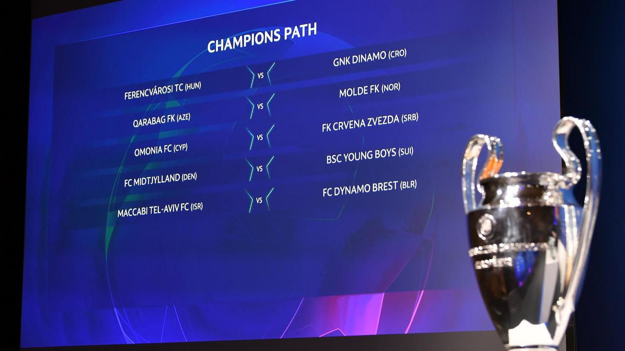 UEFA Champions League Draw revealed