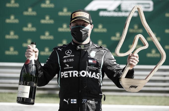 Bottas ganó en Austria