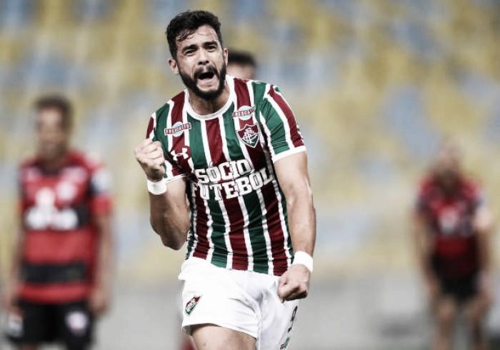 Presidente do Fluminense garante permanência de Henrique Dourado: ''É um ídolo nosso''