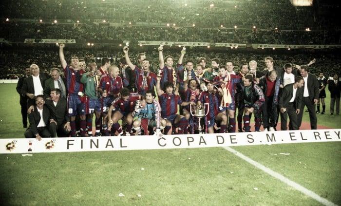 Final de la Copa del Rey 1997, el Bernabeu como escenario de una victoria azulgrana