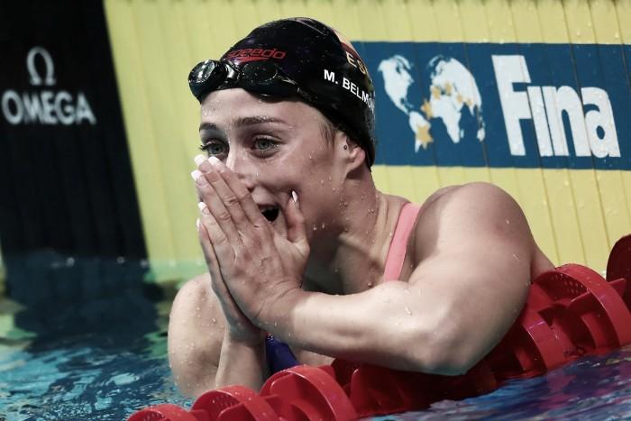 Mireia Belmonte consigue su segunda plata en una tarde de auténticos récords