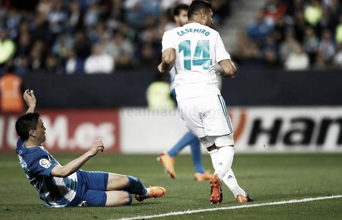 Quinto gol de Casemiro en liga