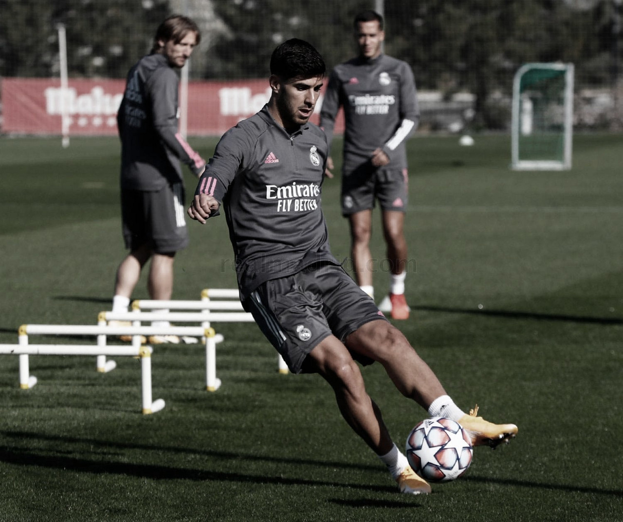 El Real Madrid se ejercitó para preparar el encuentro de Champions League | Foto: Real Madrid