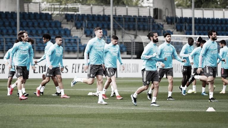 El Real Madrid se prepara para medirse al Getafe