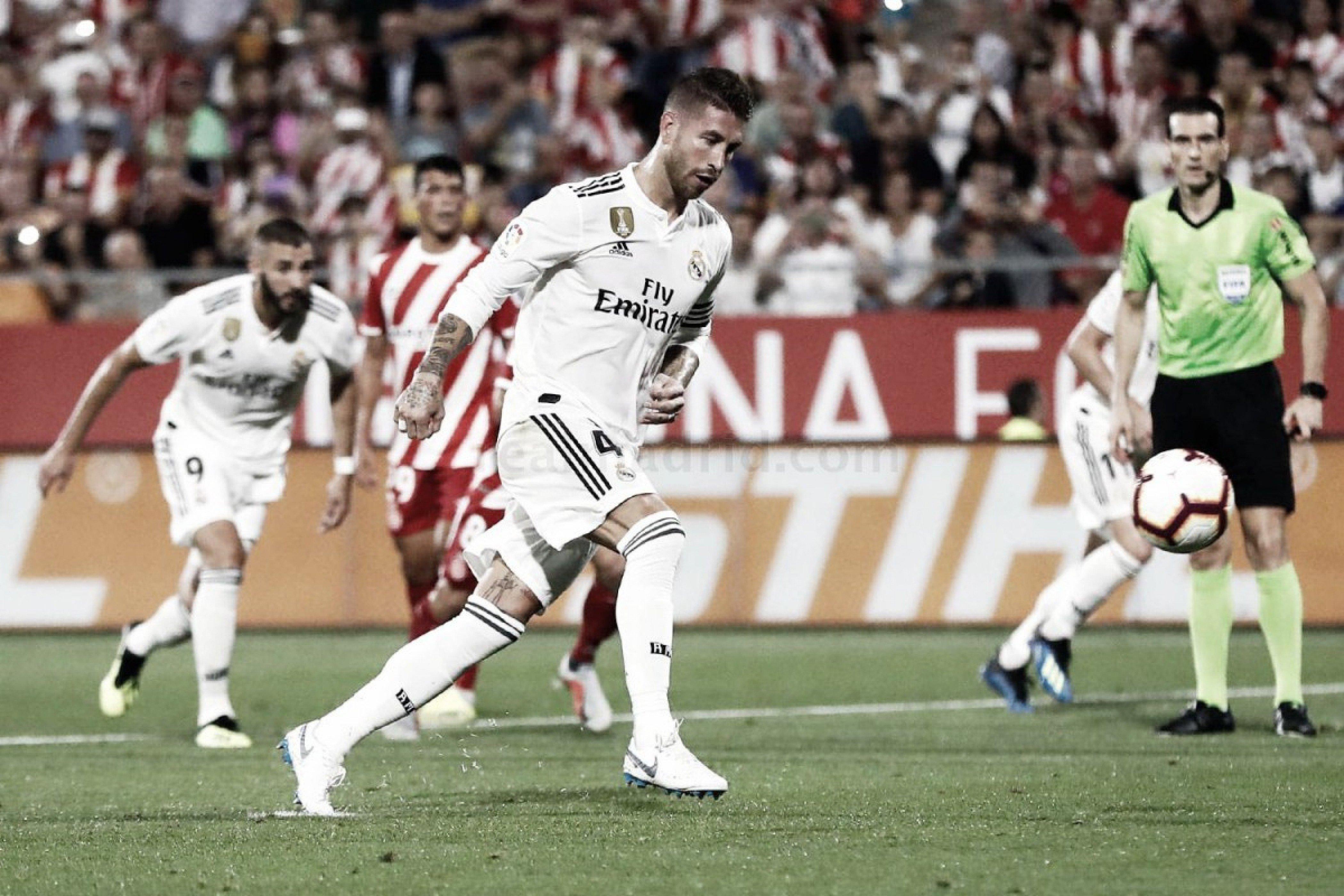 13 años del debut de Ramos...tras conseguir la número 13