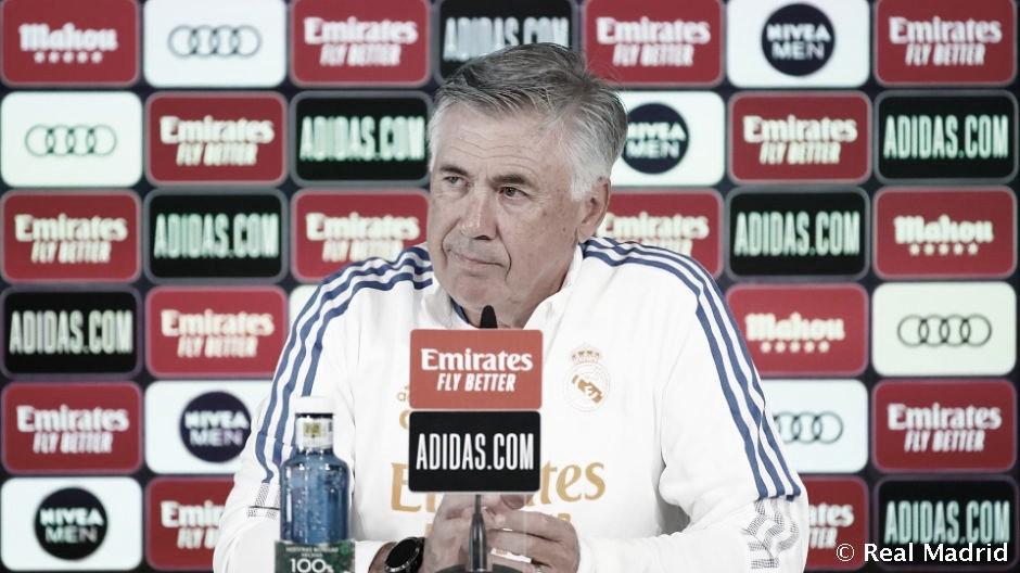 Ancelotti: Hazard no jugó por una molestia en la rodilla que todavía le duele