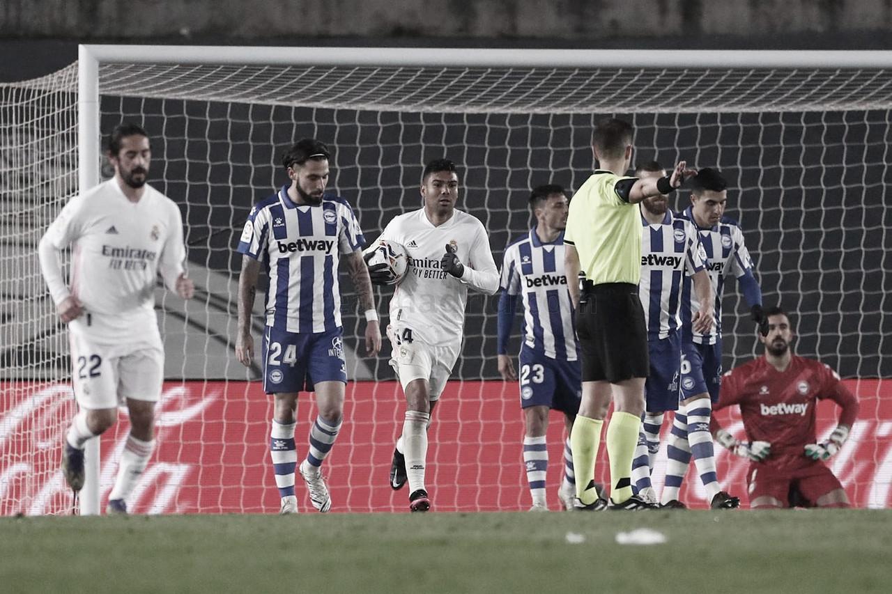 Casemiro fue el autor del único tanto del Real Madrid<div>www.realmadrid.com</div>