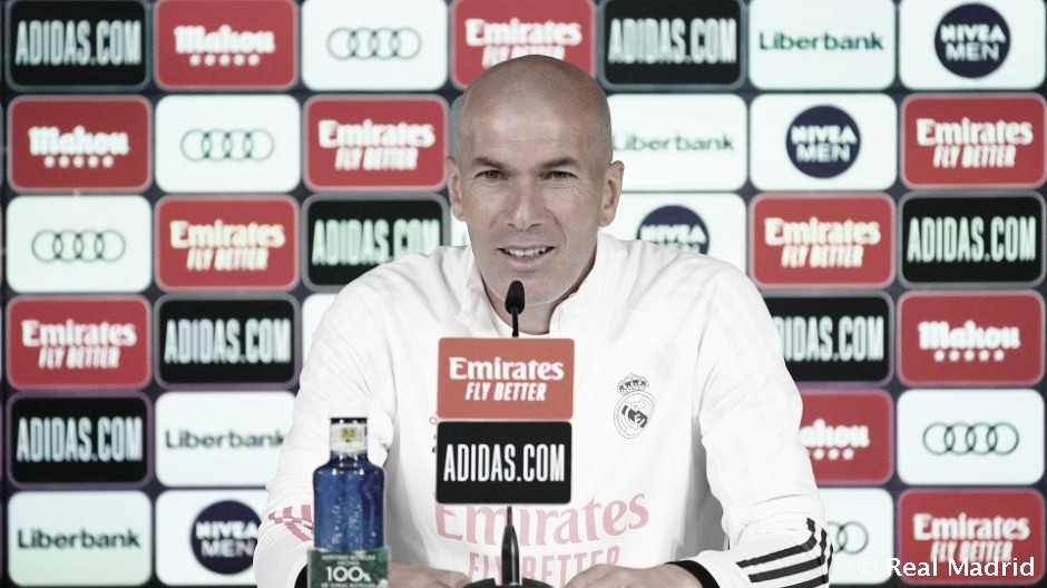 """Zidane: """"Disfruto de lo que hago todos los días"""""""