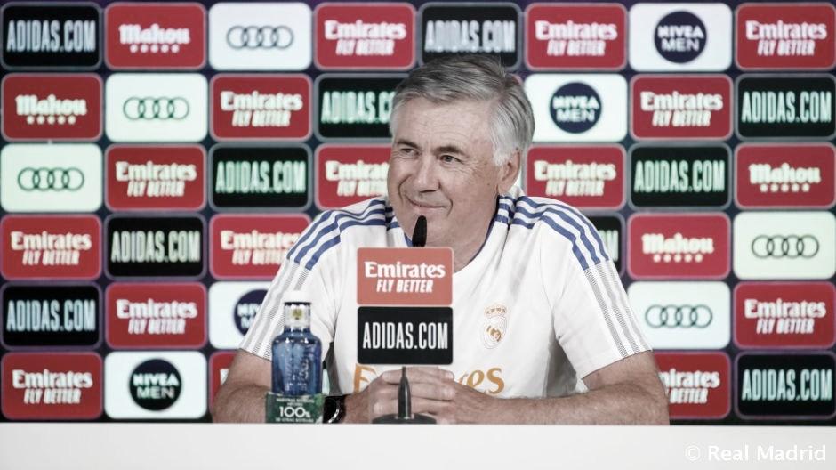 """Carlo Ancelotti: """"La plantilla es muy buena, pero el mercado está abierto"""""""