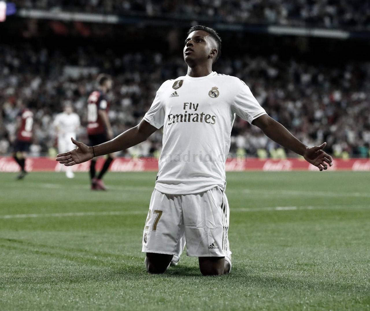 """Rodrygo Goes: """"Mi gran sueño era jugar aquí, siempre veía los partidos"""""""