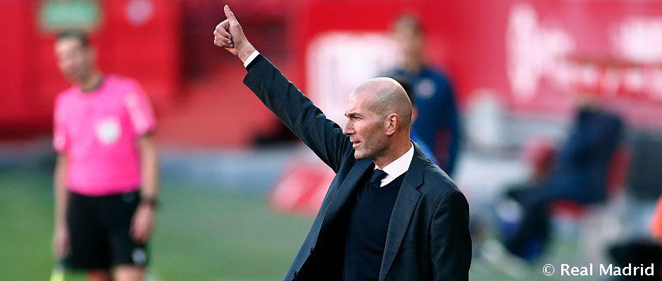 """Zidane: """"Hemos competido muy bien desde el principio hasta el final"""""""
