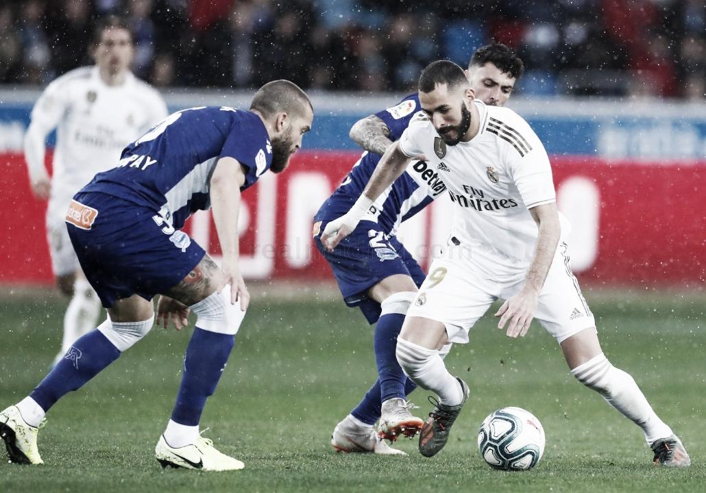 Encuentro entre el Alavés y el Real Madrid. | Fuente: Real Madrid C.F