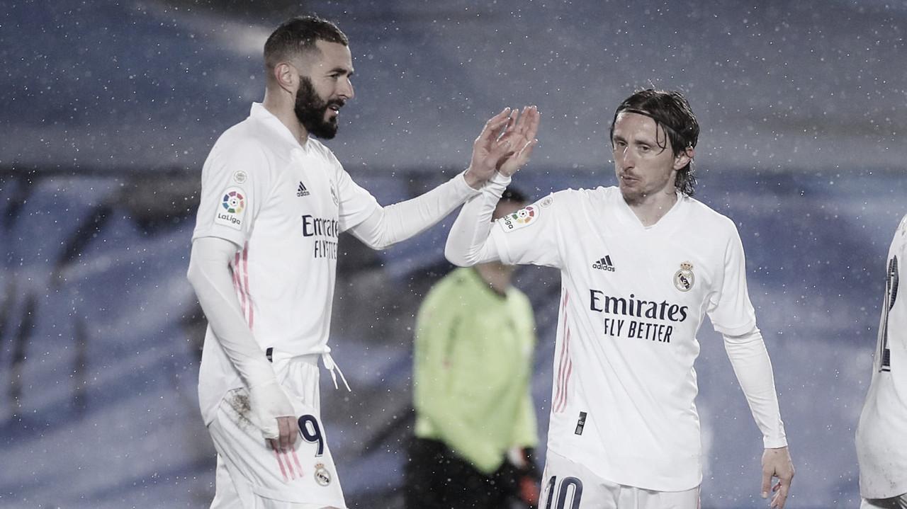 Real Madrid 2-0 Getafe: Leones dormidos hasta la segunda parte