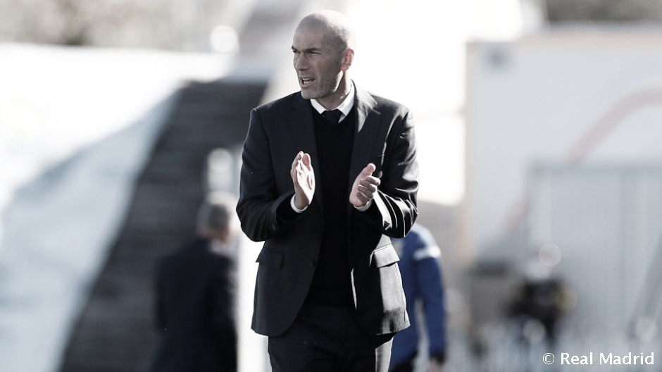 """Zidane: """"Estamos vivos en las dos competiciones"""""""