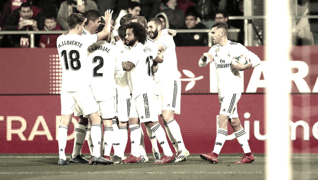 Girona – Real Madrid: puntuaciones del Madrid en la copa