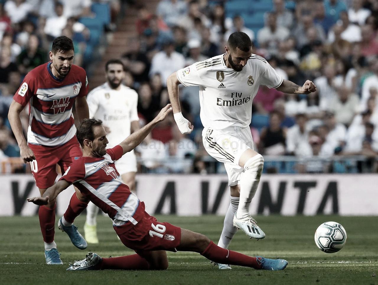 Real Madrid visita Granada visando manter vantagem sobre Barcelona