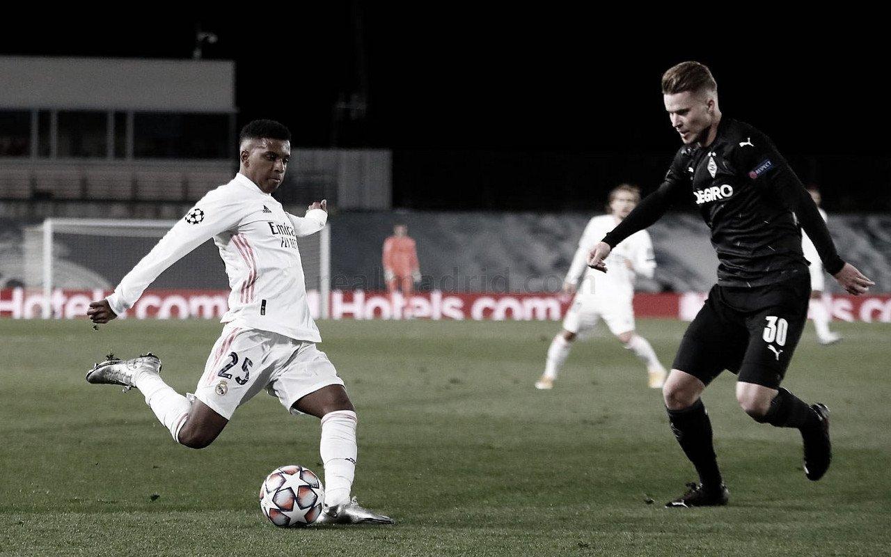 """Rodrygo Goes: """"Estoy muy feliz por la clasificación del equipo, y también por mi actuación"""""""