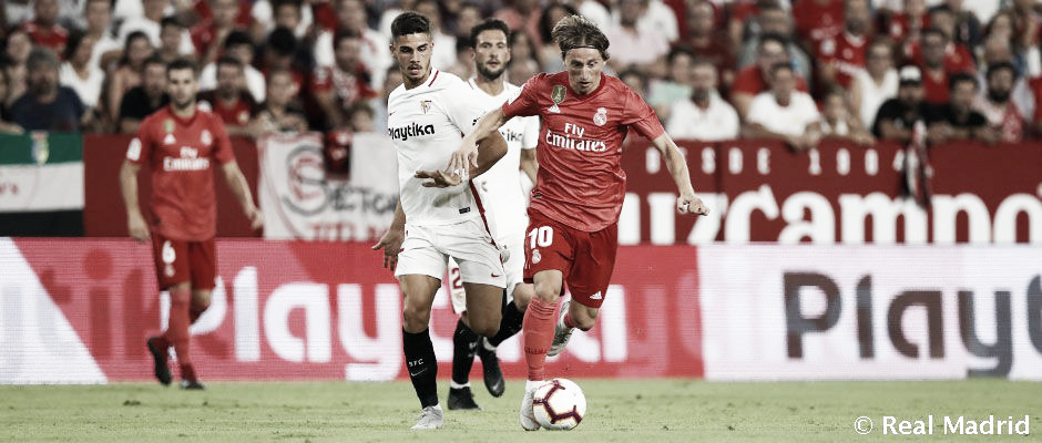 Sevilla - Real Madrid: Duelo de gigantes