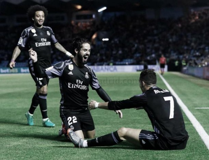 Contracrónica: Isco, Keylor y Cristiano, el Madrid de tres