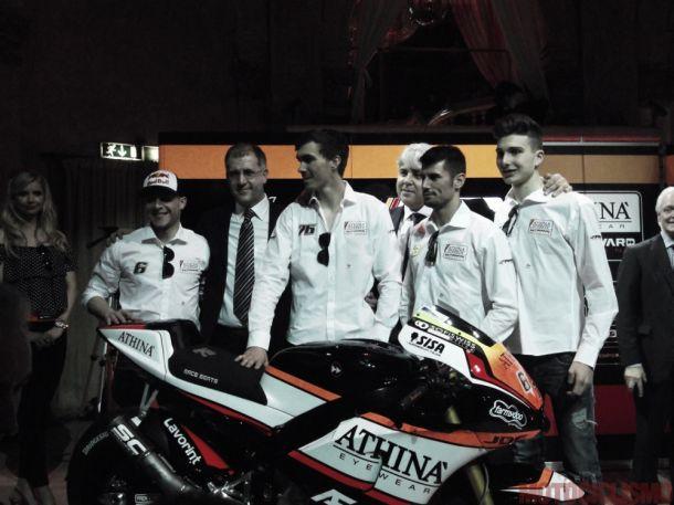 Presentato a Milano il team Athina Forward Racing