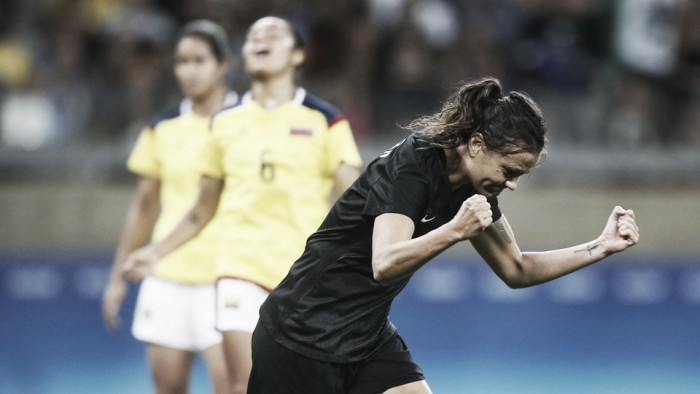Colombia 0-1 New Zealand: Hearn the hero for the Ferns