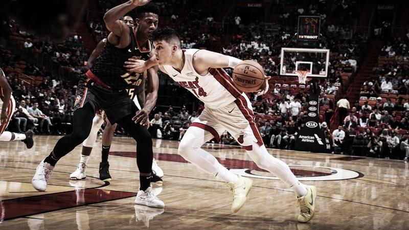 Com grande atuação do novato Tyler Herro, Miami Heat derrota Atlanta Hawks