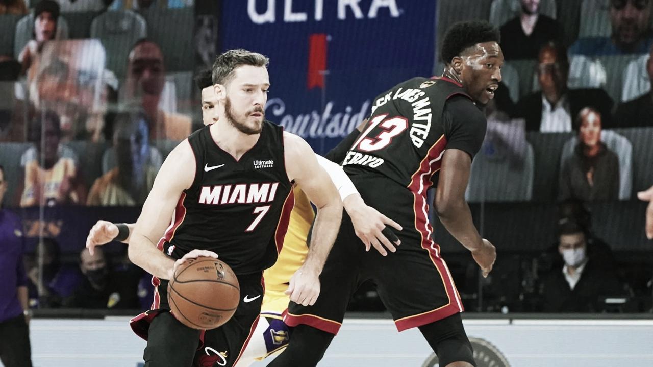 NBA Finals: Adebayo e Dragic seguem como dúvidas do Miami Heat para jogo 3