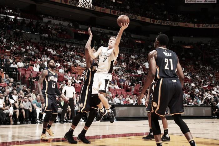Com grande atuação de Whiteside, Heat segura pressão e derrota Pacers na NBA