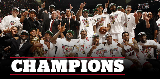 Miami Heat, campeón de la NBA tras superar a Oklahoma City (121-106)
