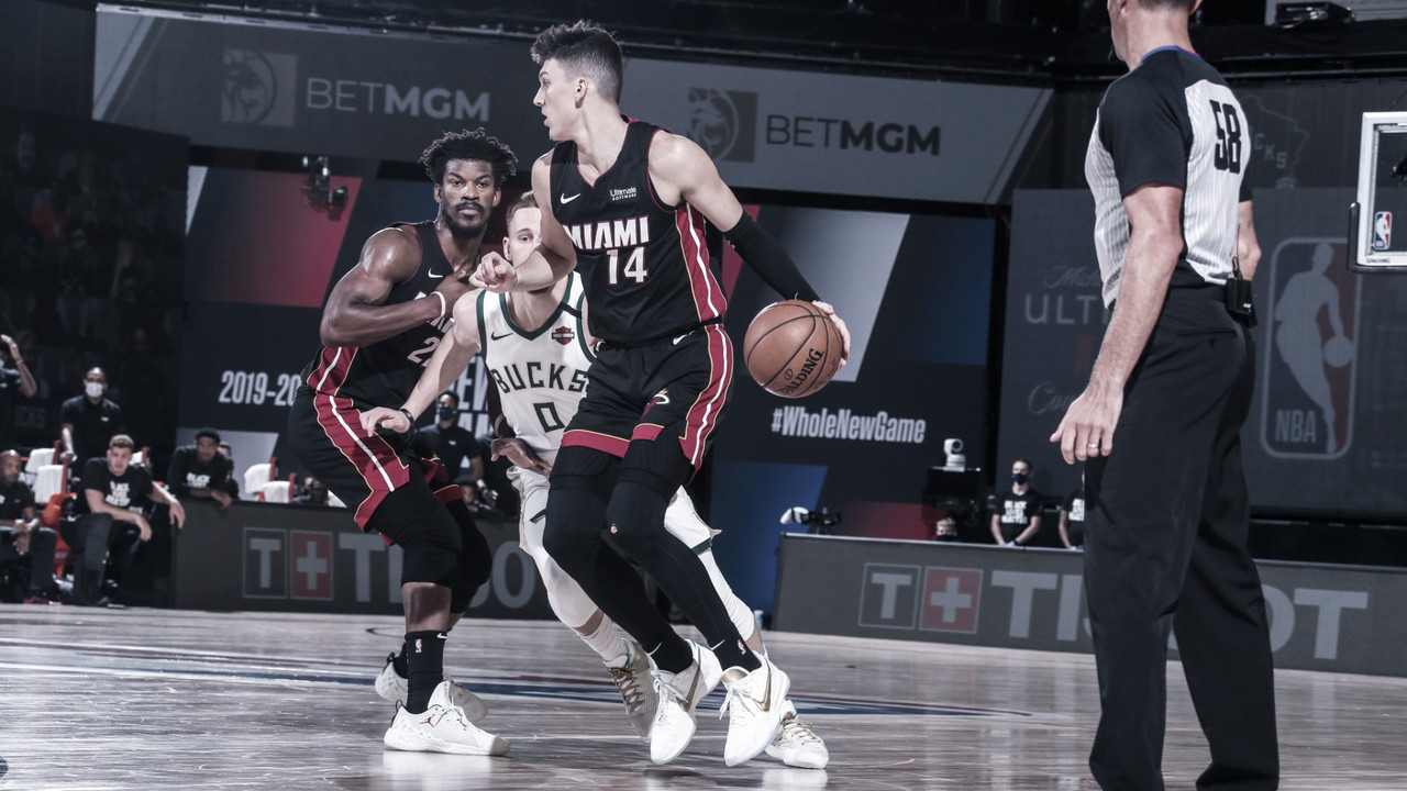 Miami completa la sorpresa y elimina a los Bucks