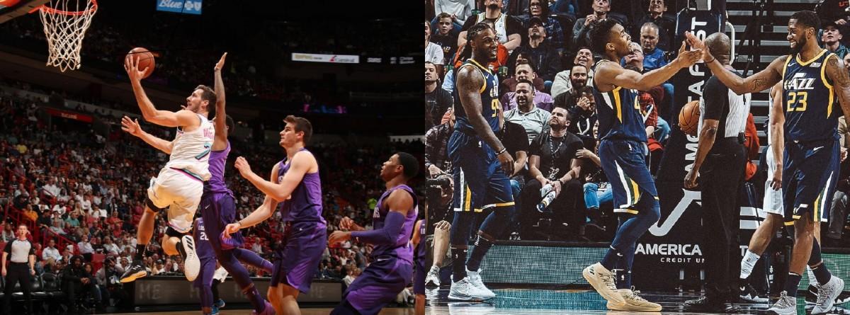 La preeminencia del Heat y la victoria de Jazz