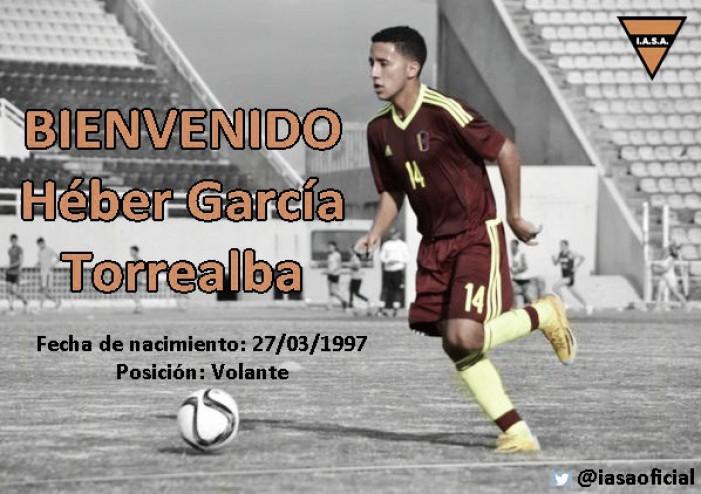 Heber García ficha por Sud América de Uruguay
