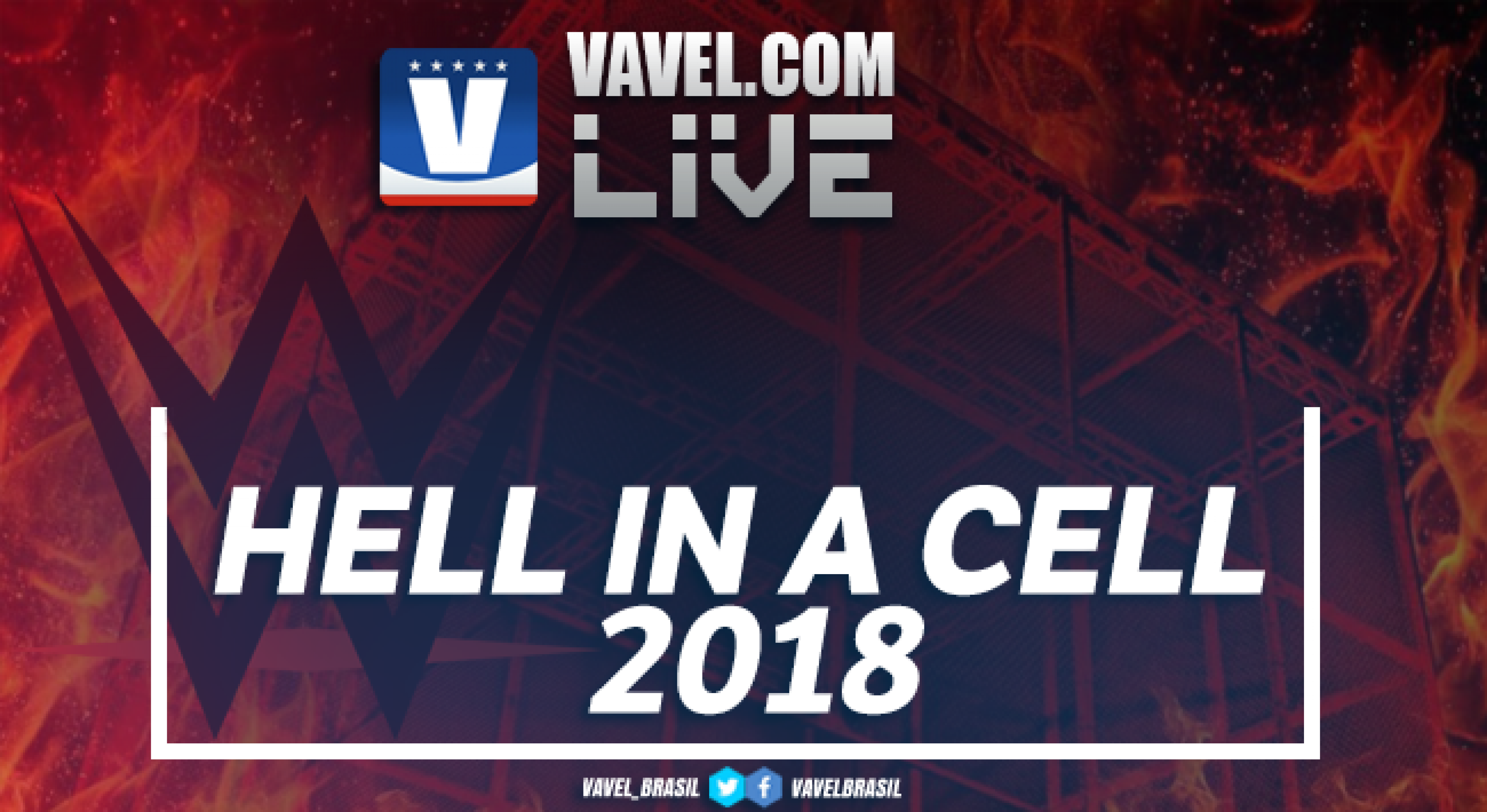 WWE Hell in a Cell 2018 Main Card Live Stream Commentary and Results